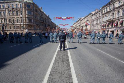 первомай-2016 полиция