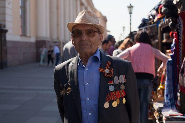 Василий Фёдорович, 92 года, пенсионер