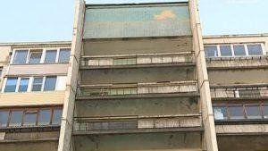 Дома 606 серия малюсенький балкончик.