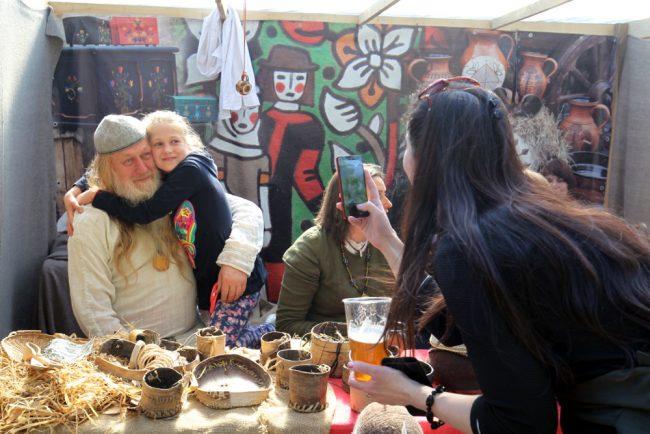 фестиваль Ремесленные и кулинарные традиции Литвы средневековье реконструкторы