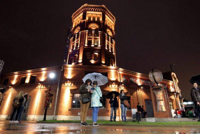 ночь музеев 2016 Музейный комплекс Вселенная воды водоканал