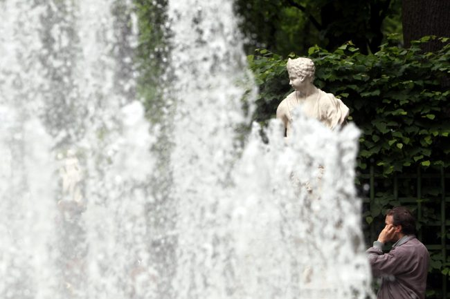 фонтаны летний сад статуи скульптуры