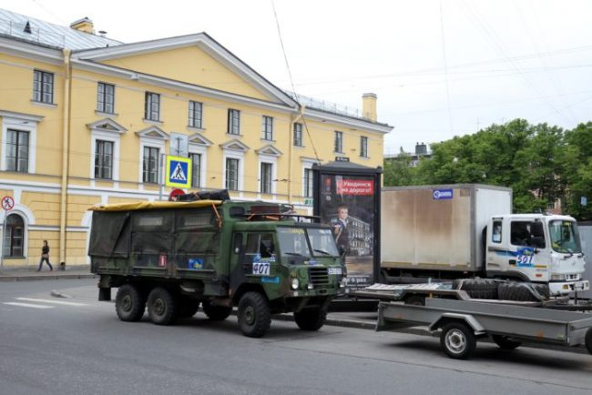старт трофи-рейда ладога 2016 автоспорт гонки ралли исаакиевская площадь