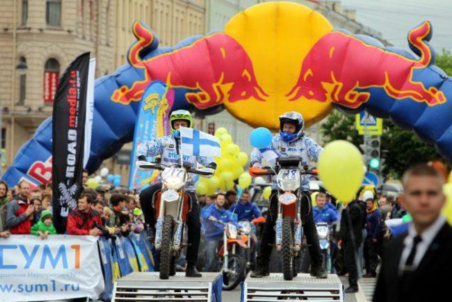 старт трофи-рейда ладога 2016 автоспорт гонки ралли исаакиевская площадь мотоцикл