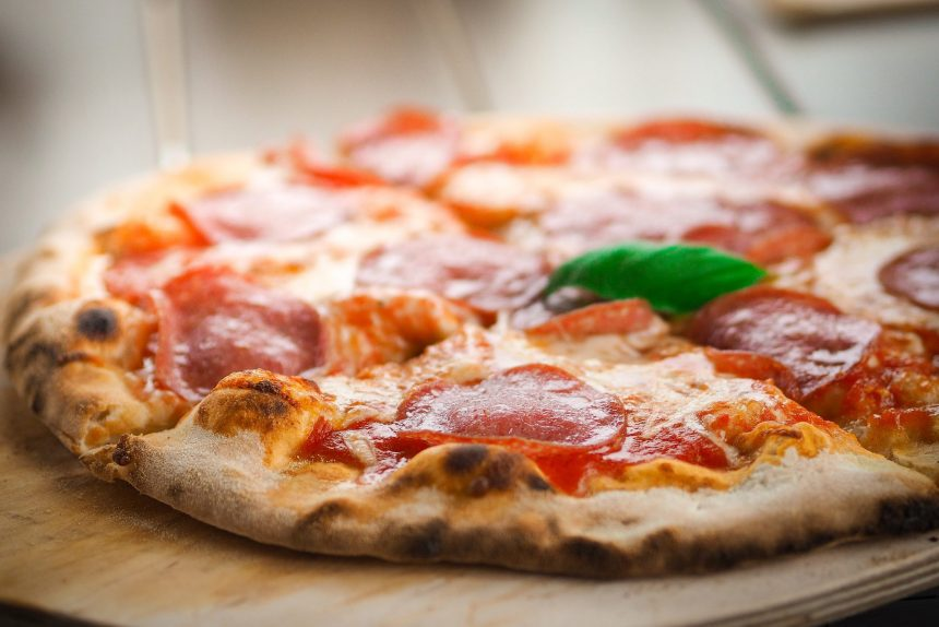 пицца еда итальянская кухня