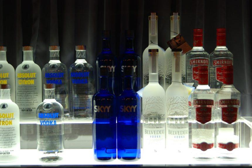 водка, бар, алкоголь