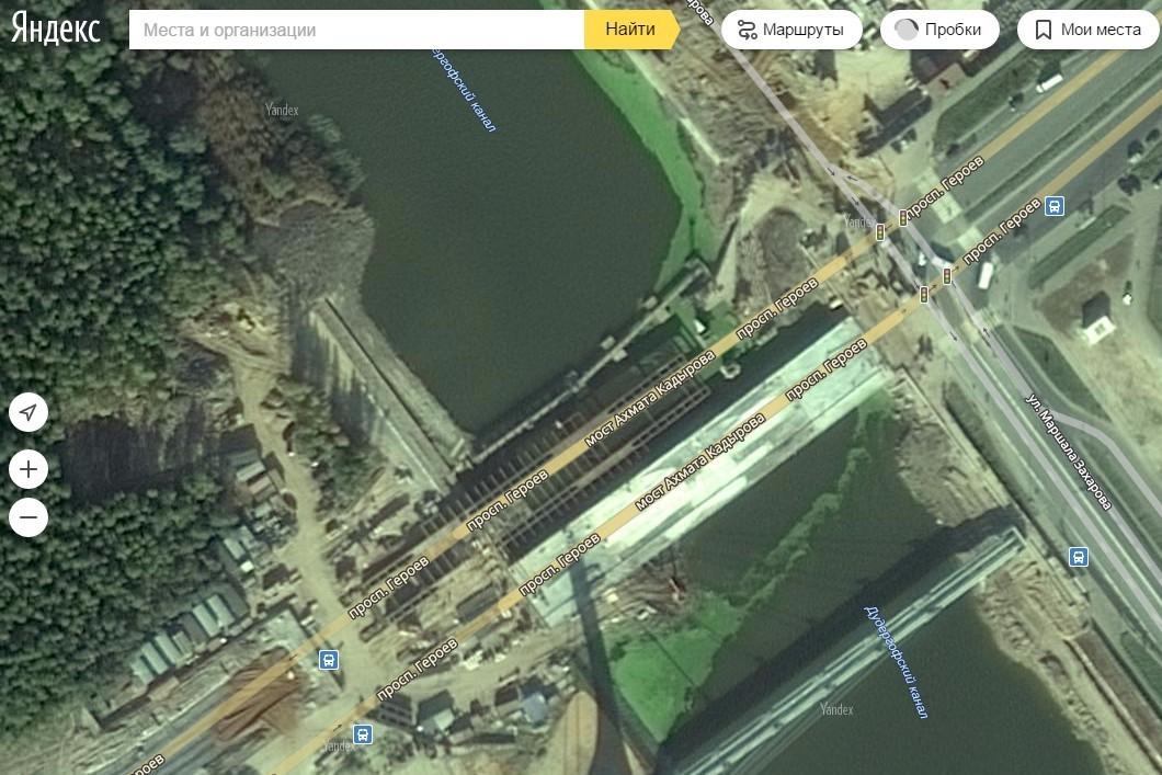 """снимок экрана - страница """"Яндекс.Карты"""""""