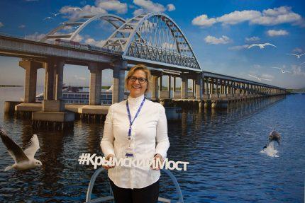 Петербургский международный экономический форум ПМЭФ 2016 крымский мост