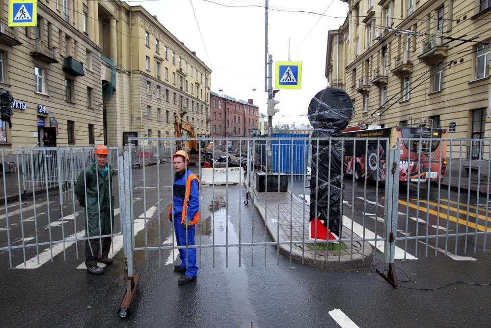 """Тульская улица. Фото: Илья Снопченко / ИА """"Диалог"""""""