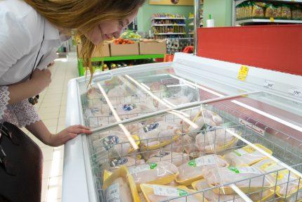 магазин супермаркет мясо курица птица покупки торговля