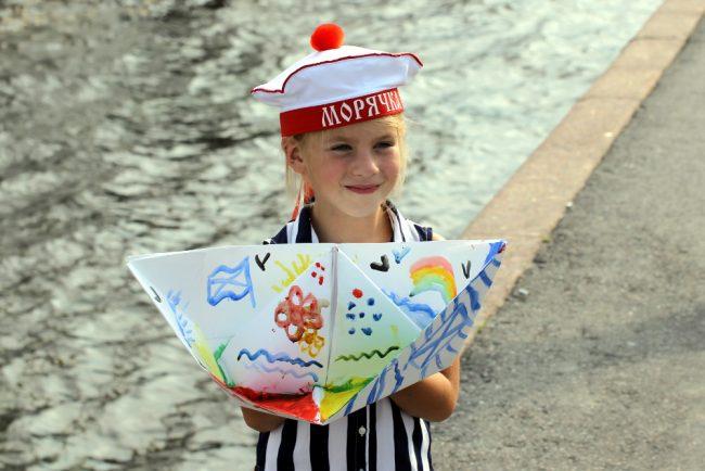 день военно-морского флота вмф дети