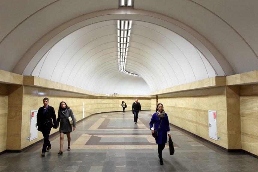 станция метрополитена спасская