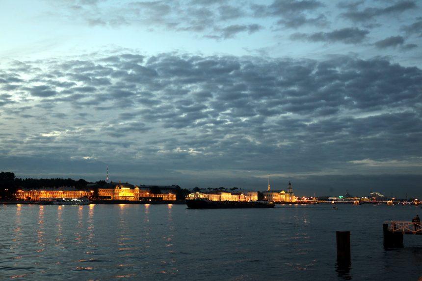 белая ночь река нева навигация судоходство