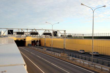 кольцевая автомобильная дорога КАД тоннель туннель дамба Кронштадт