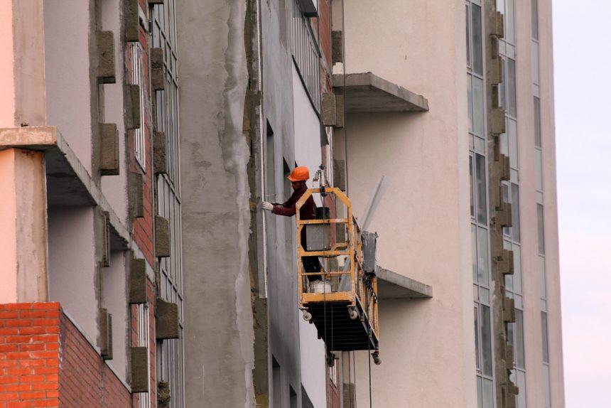строительство жилого комплекса ленинский парк гк город фасад отделочные работы