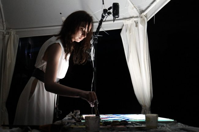 ночь света в гатчине световое шоу художница ирина титова