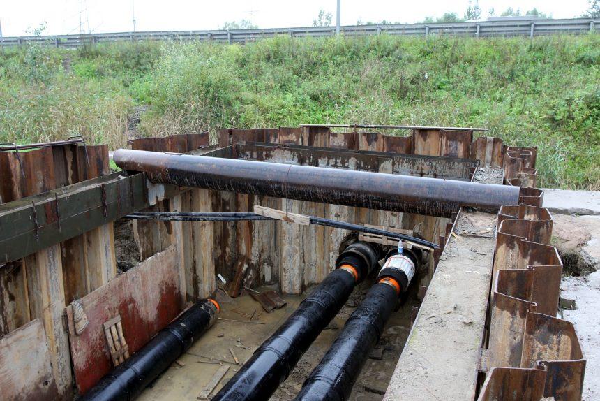 строительство тепломагистрали к электродепо метрополитена южное оао теплосеть