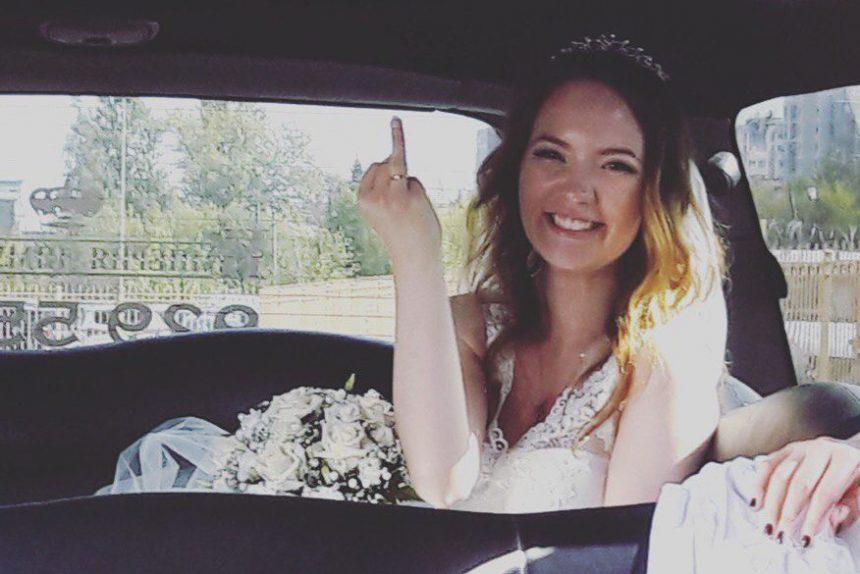 даша веркулич вышла замуж свадьба невеста