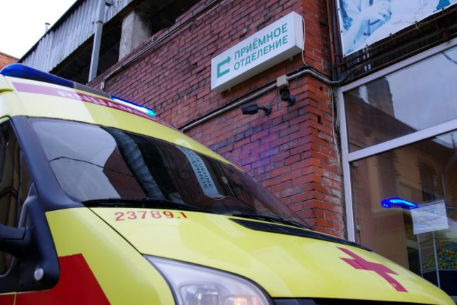 скорая помощь больница приёмное отделение медицина