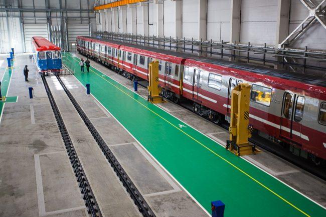 октябрьский электровагоноремонтный завод оэврз промышленность машиностроение поезд метро