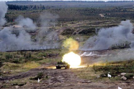 танки танковые войска полигон кирилловский каменка