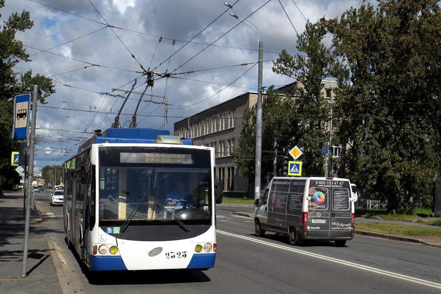 троллейбус арсенальная улица