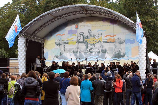 фестиваль музыка на неве площадь островского