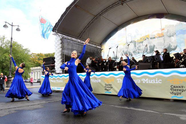 фестиваль музыка на неве площадь островского балет