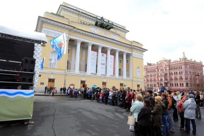 фестиваль музыка на неве площадь островского александринский театр