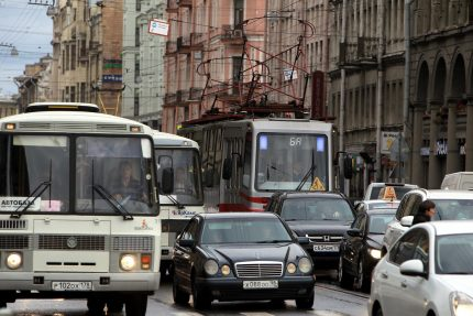 улица куйбышева трамвай 6а пробка