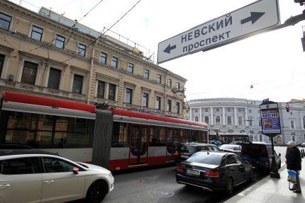 Садовая улица челночный трамвай 3а Невский проспект