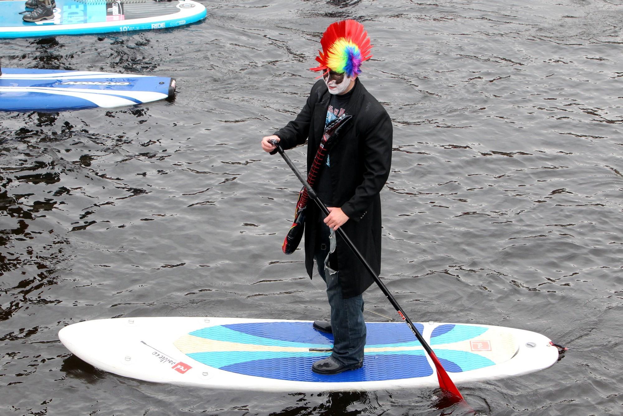 фестиваль sup серфинга канал грибоедова водные виды спорта панки