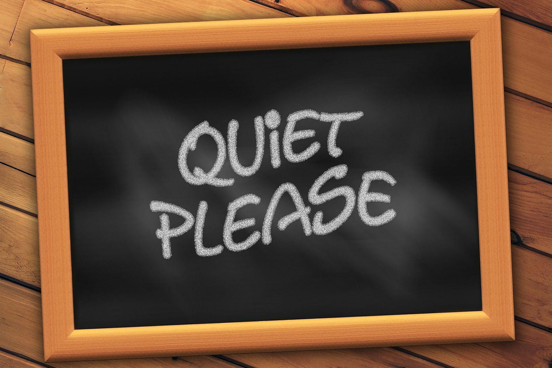 молчание тишина доска