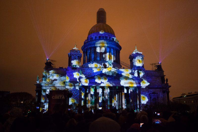 Свет фестиваль петербург