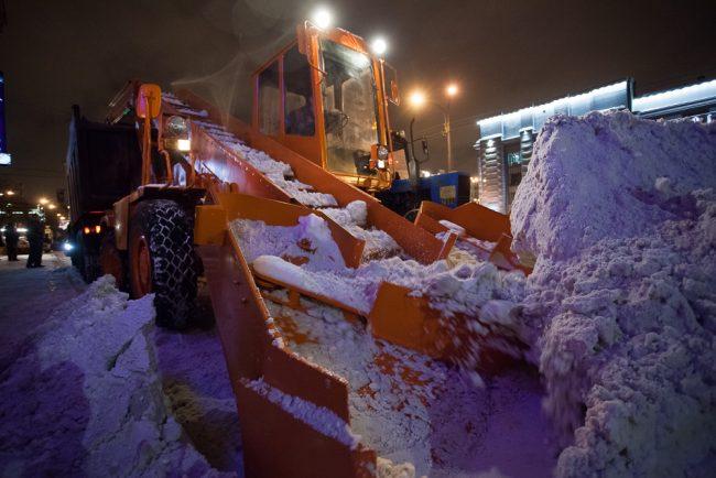 дорожная техника снегоуборочная техника уборка снега снег