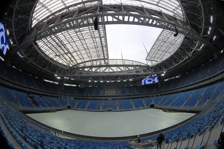 зенит-арена стадион санкт-петербург арена крыша