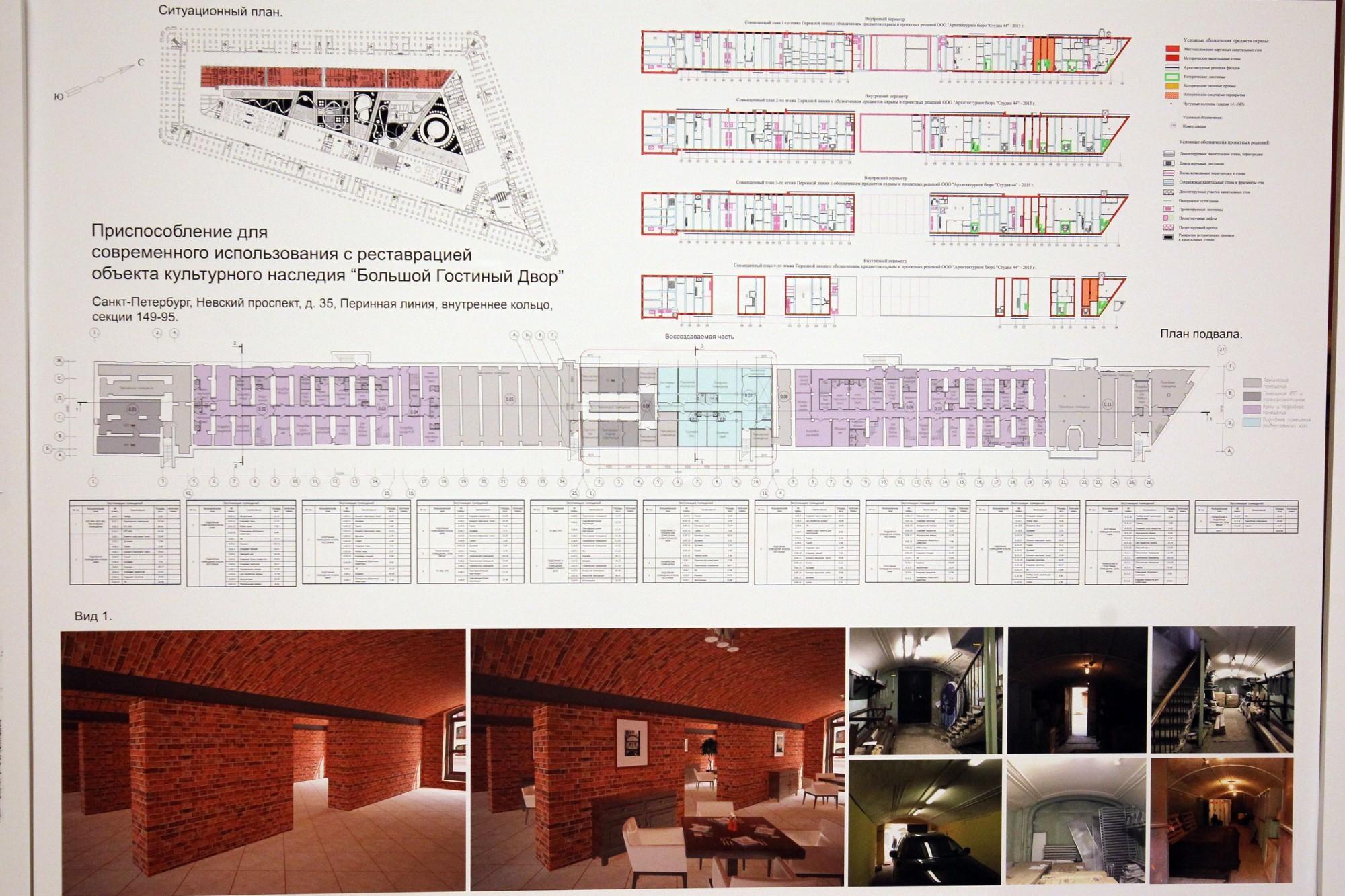 совет по сохранению культурного наследия реконструкция гостиного двора