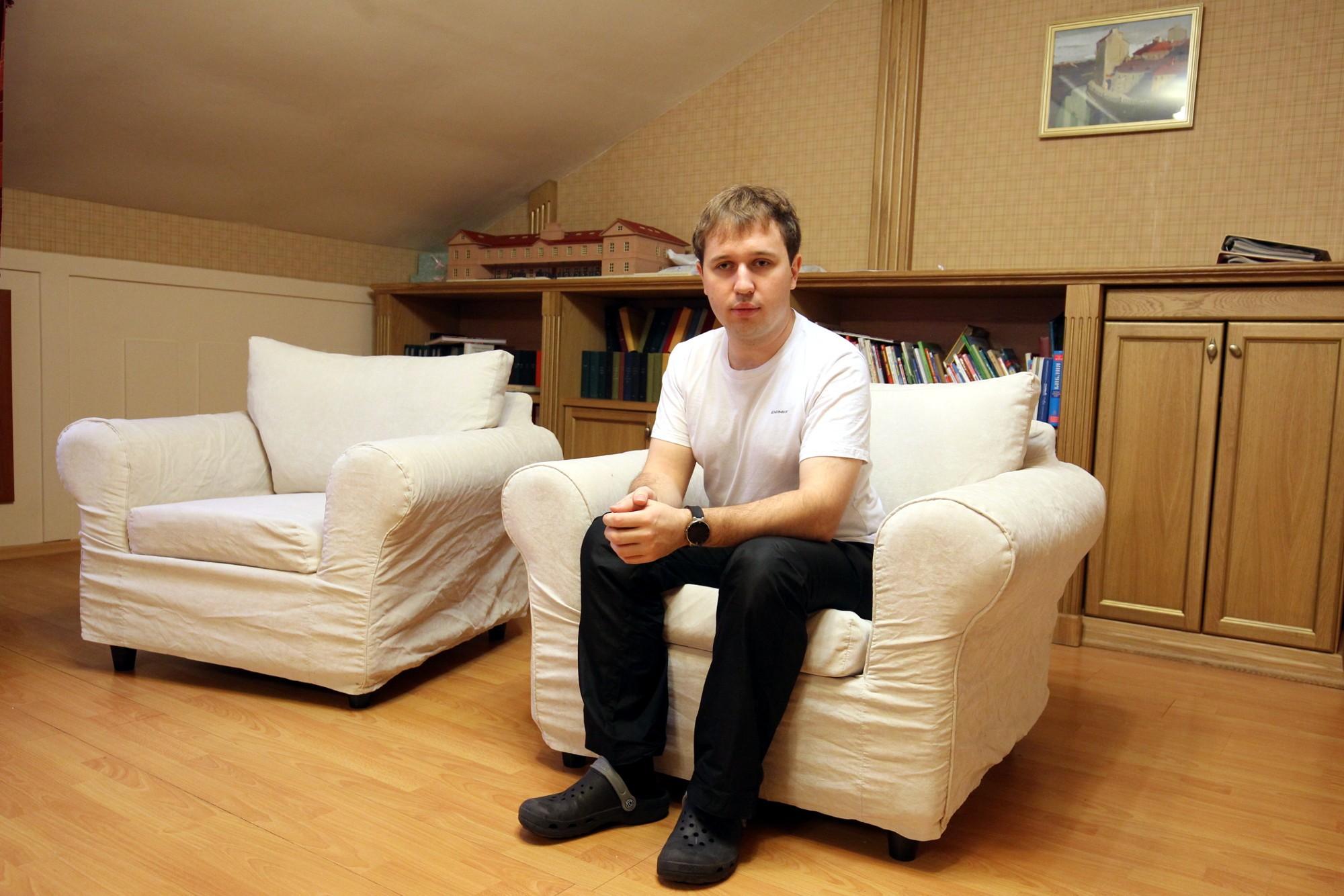 детский хоспис психолог-воспитатель Денис Ларионовский