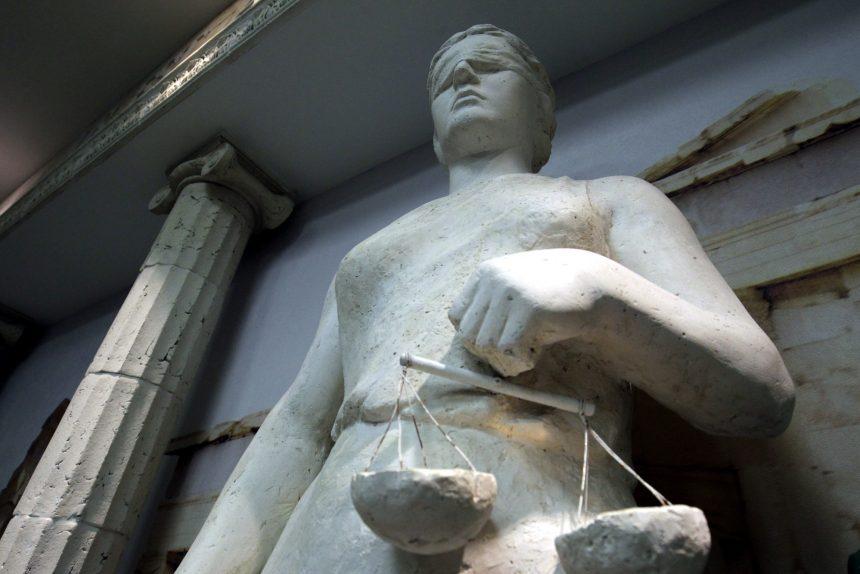 статуя фемида правосудие
