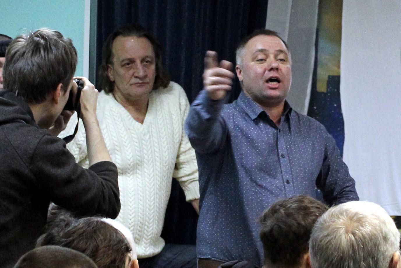 Андрей Бажутин дальнобойщик антиплатон объединение перевозчиков России