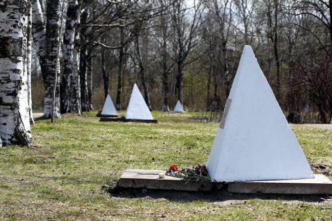 памятник Аллея Славы Полежаевский пар