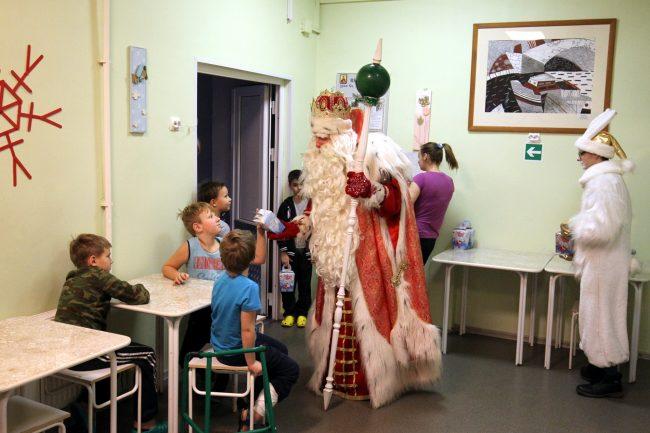 Всероссийский Дед Мороз детская больница № 2 святой Марии Магдалины