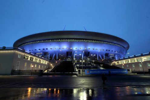 Вдни Кубка конфедераций движение поКрестовскому острову закроют