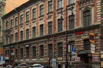 ВООПИиК, улица Восстания, 4, историческое здание