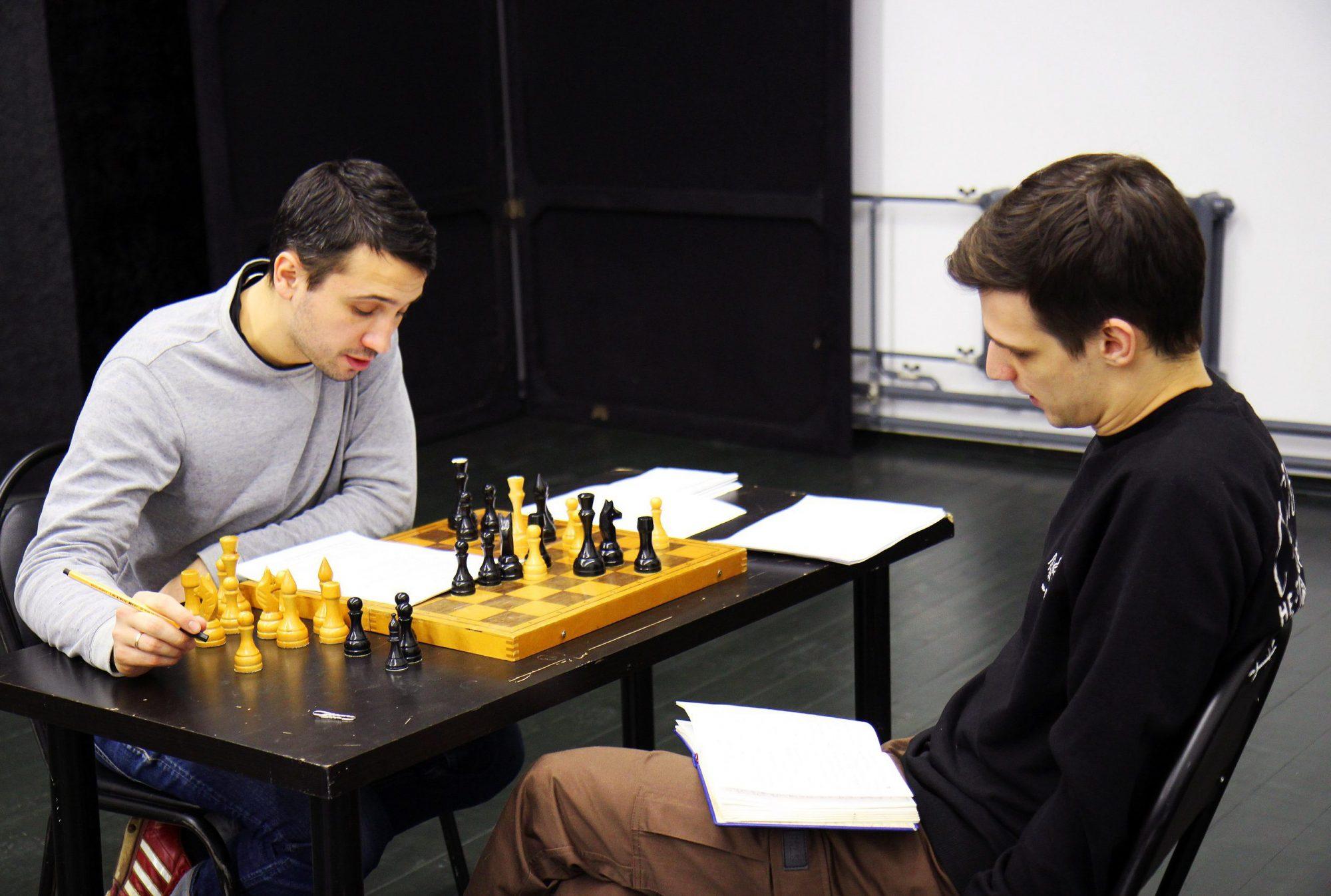 Андрей Слепухин и Иван Стрюк. Фото предоставлено пресс-службой ТЮЗа