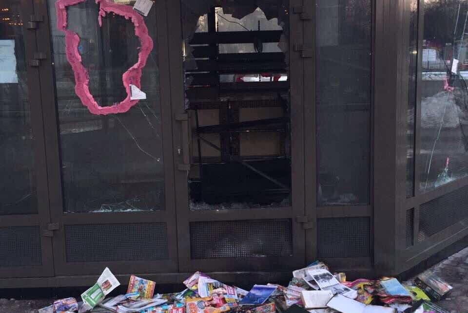 На невский проспект могут вернуться газетные киоски