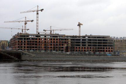 строительство жилого комплекса смольный проспект