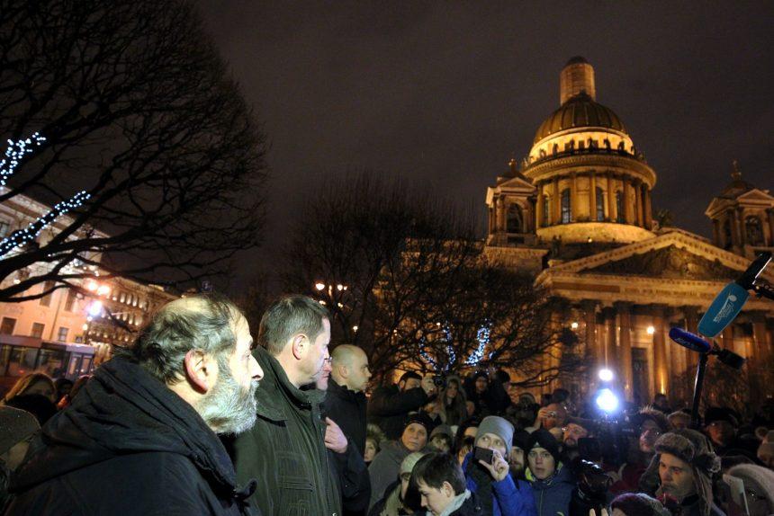 исаакиевский собор борис вишневский народный сход акция протеста