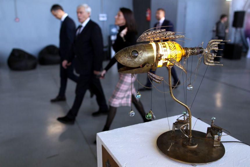 открытие творческого пространства artplay артплей красногвардейская площадь георгий полтавченко ирина бабюк