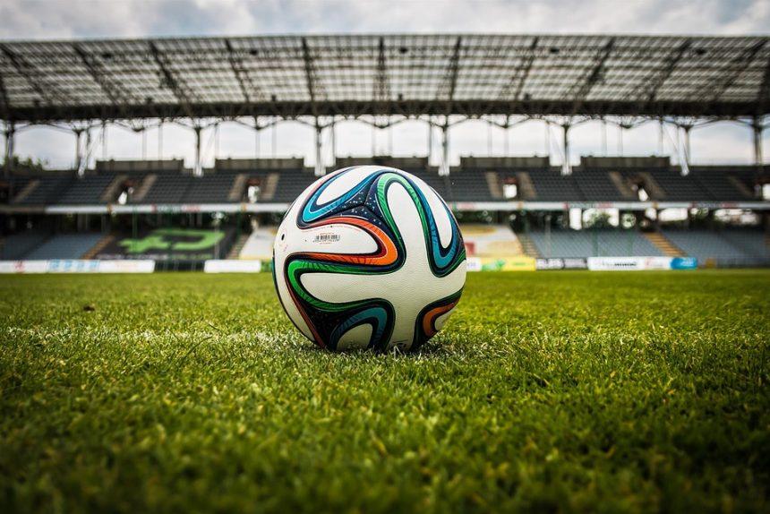 футбол, мяч, футбольное поле